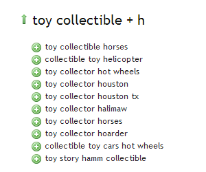 Toy Collectibe - Ubersuggest Results