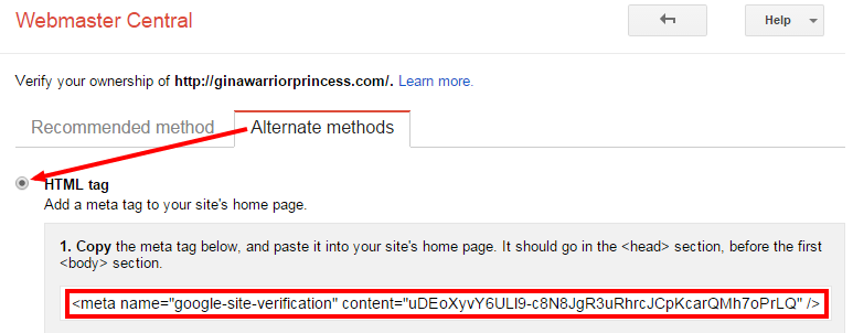 HTML tag