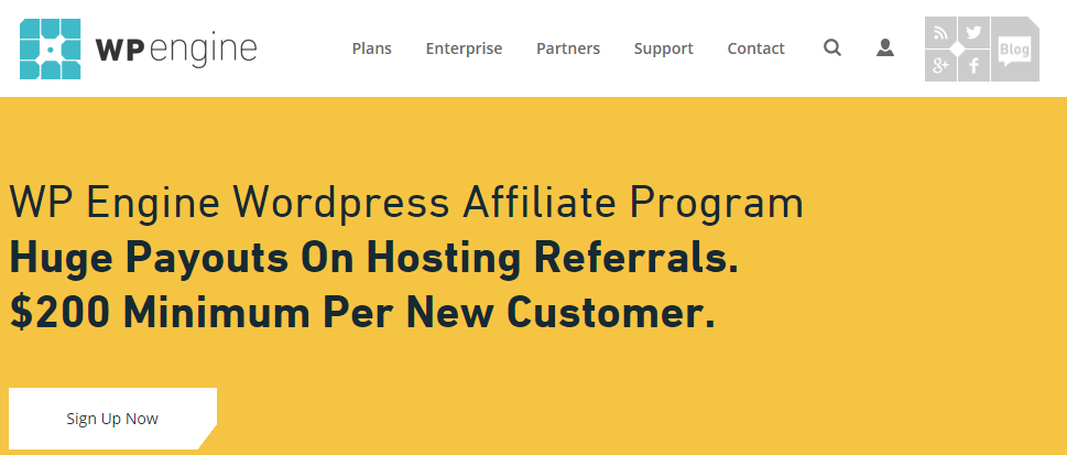 WP Engine - Web Hosting Affiliate Programs