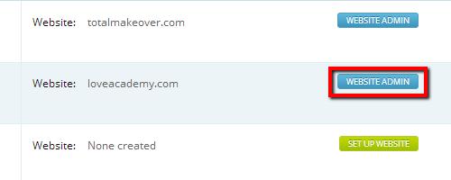 Website Admin