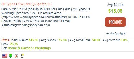 Wedding Speech $ U - Wedding Speech Affiliate Programs