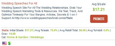 Wedding Speeches For All - Wedding Speech Affiliate Programs