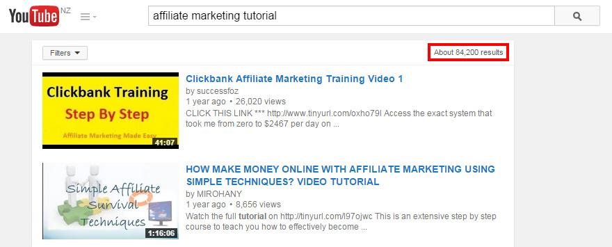 affiliate marketing tutorials