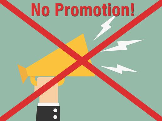no promotion