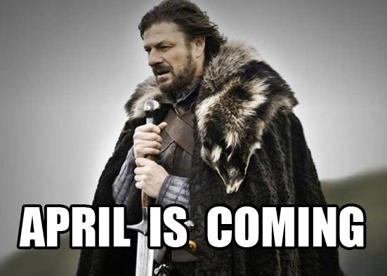 April is Coming