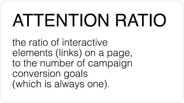 attention ratio