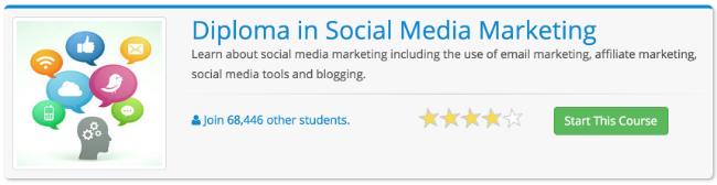 social media marketing diploma