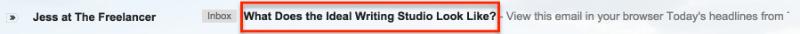 freelancer email