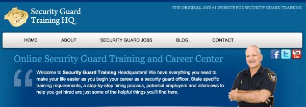 securtiy guard training hq