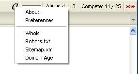 Affilorama Firefox SEO Toolbar