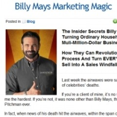 Billy Mays Pitchmen Notes - Tips to Increase Your Conversion Rates