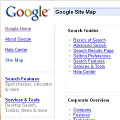 Google SiteMaps - Letting the search engines know you mean business!