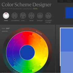 A Useful Website Color Scheme Tool